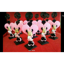 100 Lembrançinhas Minnie / Mickey Biscuit Aniversário Chá