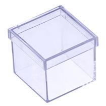 Kit 20 Caixinhas De Acrilico 4x4 Personalizar Lembrancinhas