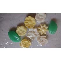Sabonete Artesanal Mini Florzinha Pacote Com 100 Unidades
