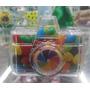 Caixa Acrilica Máquina Fotográfica - 12 Unidades