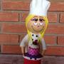 Cozinheira Em Eva 3d