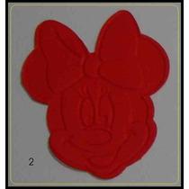 Minnie - Recorte Da Cabeça Texturizados