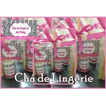 30 Lembrancinha P/ Chá De Lingerie Esmalte Personalizado