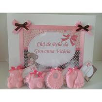 Caixa Com 35 Lembrancinhas Maternidade Ou Chá De Bebê