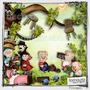 Os Tres Porquinhos De Mesa ,personaliz, Festa Infantil,mdf