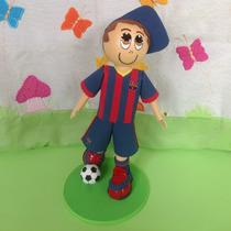 Boneco Torcedor Do Barcelona Em Eva 3d
