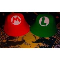 Bonés Eva Mario E Luigi 25 Unidades
