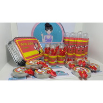 Kit Festa Infantil Minie Vermelha - Temos Vários Temas