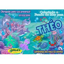 Kit Revista Colorir Personalizado - 30 Unidades 10x15 Cm