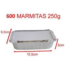 600 Marmitinhas Para Personalizar - 250g