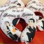 Almofada Pescoço Personalizada Aniversário Casamento Eventos