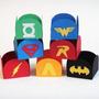 Forminhas Doces Tema Super Heróis Festa Infantil