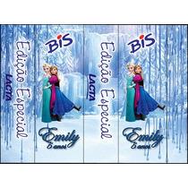 Rótulos Adesivos Personalizado Frozen