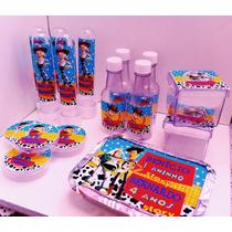 Kit 100 Unid. Toy Story Frozen Peppa Minions Festa Infantil