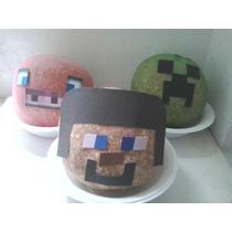 35 Bonecos Minecraft Ecológico