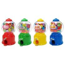 10 Baleiros Cofre Candy Machine Brinde Lembrancinha Cores!