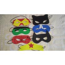30 Mascaras Super Heróis Eva