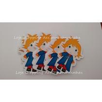 50 Apliques Tubetes Cupcake Lembrancinhas Pequeno Princice