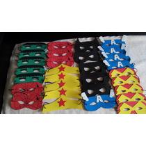 Kit Com 50 Mascaras Super-heróis Eva