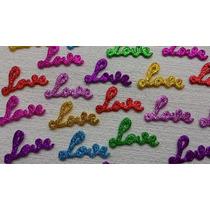 Apliques Em Eva Love (4,2cm X 2,8cm) 100 Unidades