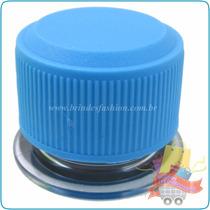 Tubo De Ensaio Tubete Pet 10cm Tp/ Plástica Azul Claro 30un