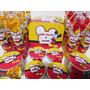 Kit 30 Latinhas 30 Marmitinhas 30 Tubetes Frozen Mickey Fest