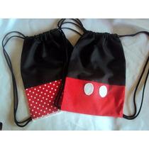 Kit Com 30 Mochilas Mickey E Minie