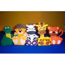 Enfeite De Mesa - Festa Safari Personalizada 45 Unidades
