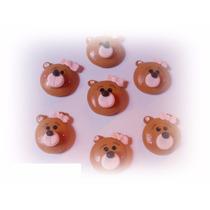 Apliques Ursinha Biscuit Kit 50