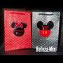 40 Sacolas Personalizadas Da Minnie E Mickey