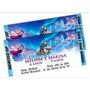 30 Convites Personalizado Frozen