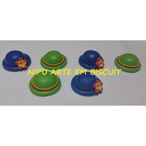 50 Apliques Em Biscuit Patati Patatá 3 Cm Frete Grátis