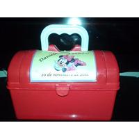 Kit 10 Bauzinhos Personalizados Minnie Frozen Aniversario