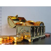 Mini Baú De Acrilico Para Lembrancinha - Kit Com 60 Unidades