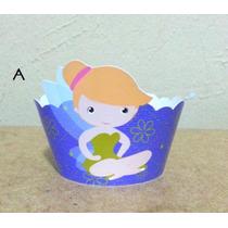 Wrappers Saia Cupcake Sininho - Tinker Bell