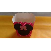 10 Cachepot Personalizado Minie Rosa Menor Preço Do Mercado