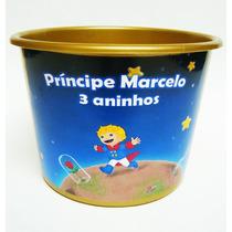 Baldinho Balde De Pipoca Pequeno Príncipe 1,5 L - 10 Unid.