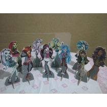 Monster High De Mesa,display,festa Infantil,mdf