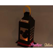 Lanterna / Centro De Mesa Tema Mickey