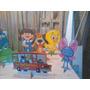 Galinha Pintadinha De Mesa, 03 Display,festa Infantil Mdf