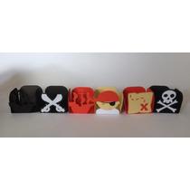 Forminha Para Doces Tema Piratas - Pct Com 25 Unidades