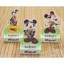 Caixa Bis Duplo - 10 Unid.- Festa Infantil Mickey Safari