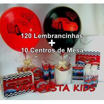 Kit Festa Personalizada Carros, Peppa Pig E Etc C/ 130unid.