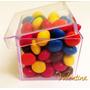 60 Unidades Caixinha Plástica 5x5 *tubete/lembrançinha/tubo*