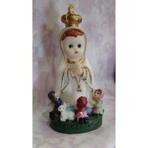 Imagem Infantil - Nossa Senhora De Fátima - Resina - 8cm