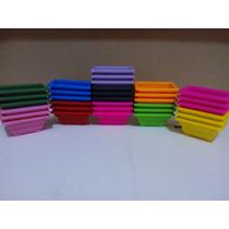 Vasinho Tipo Jardineira (plástico) C/10 Unid Cores Variadas