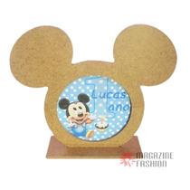 Porta Retrato Mdf Pequeno Mickey Lembrança - Presente Festa