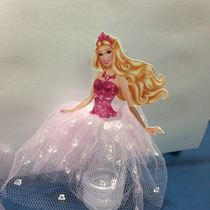 Tubete Saia De Tule Barbie Lindaaa