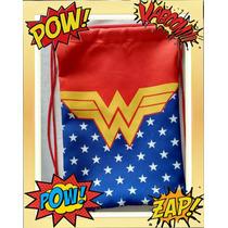 20 Mochilas Para Festa Tema Super Heroi