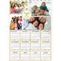 50 Calendários Personalizados 20x30 Com Foto Ou Tema